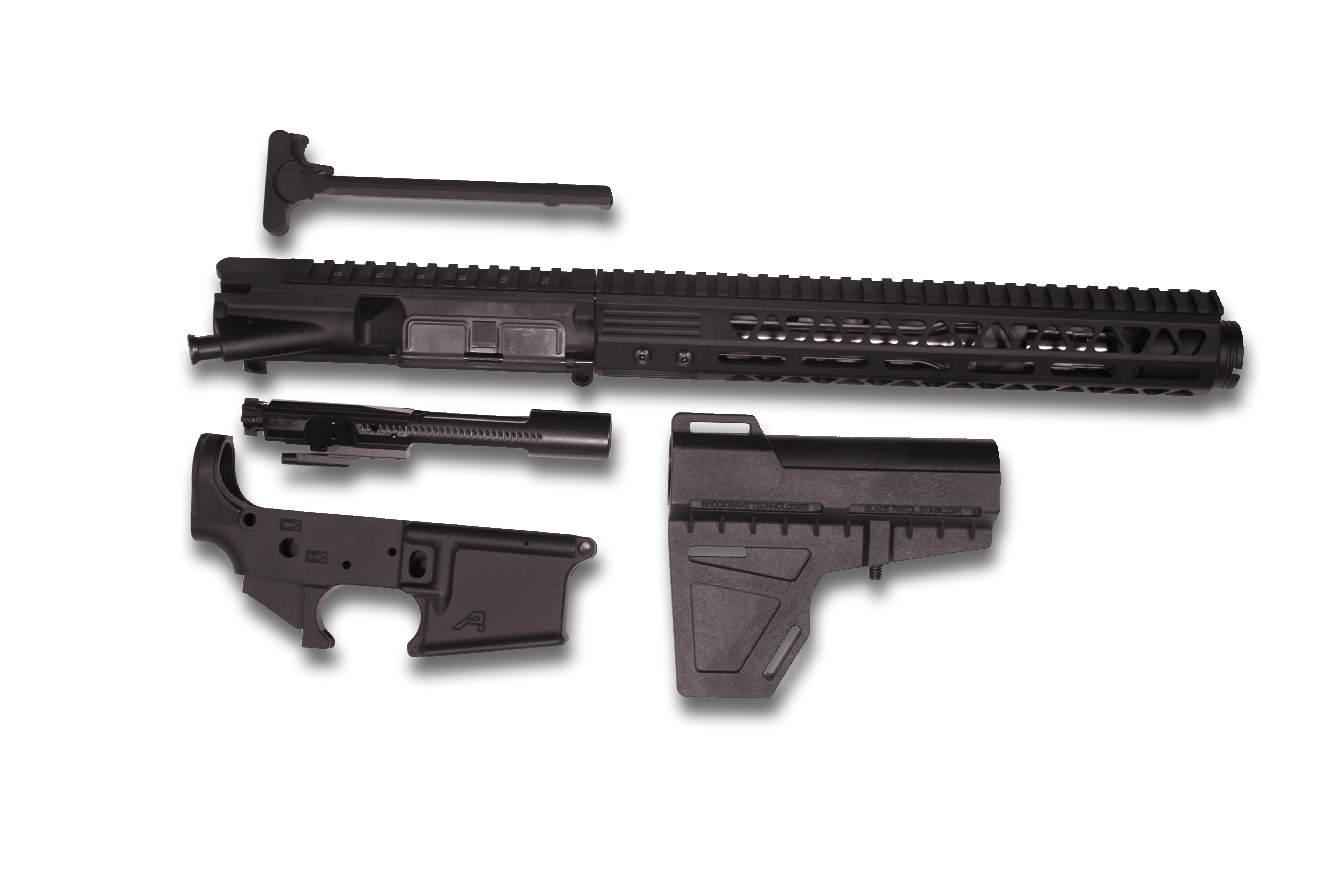 AR15 Pistol Build Kit