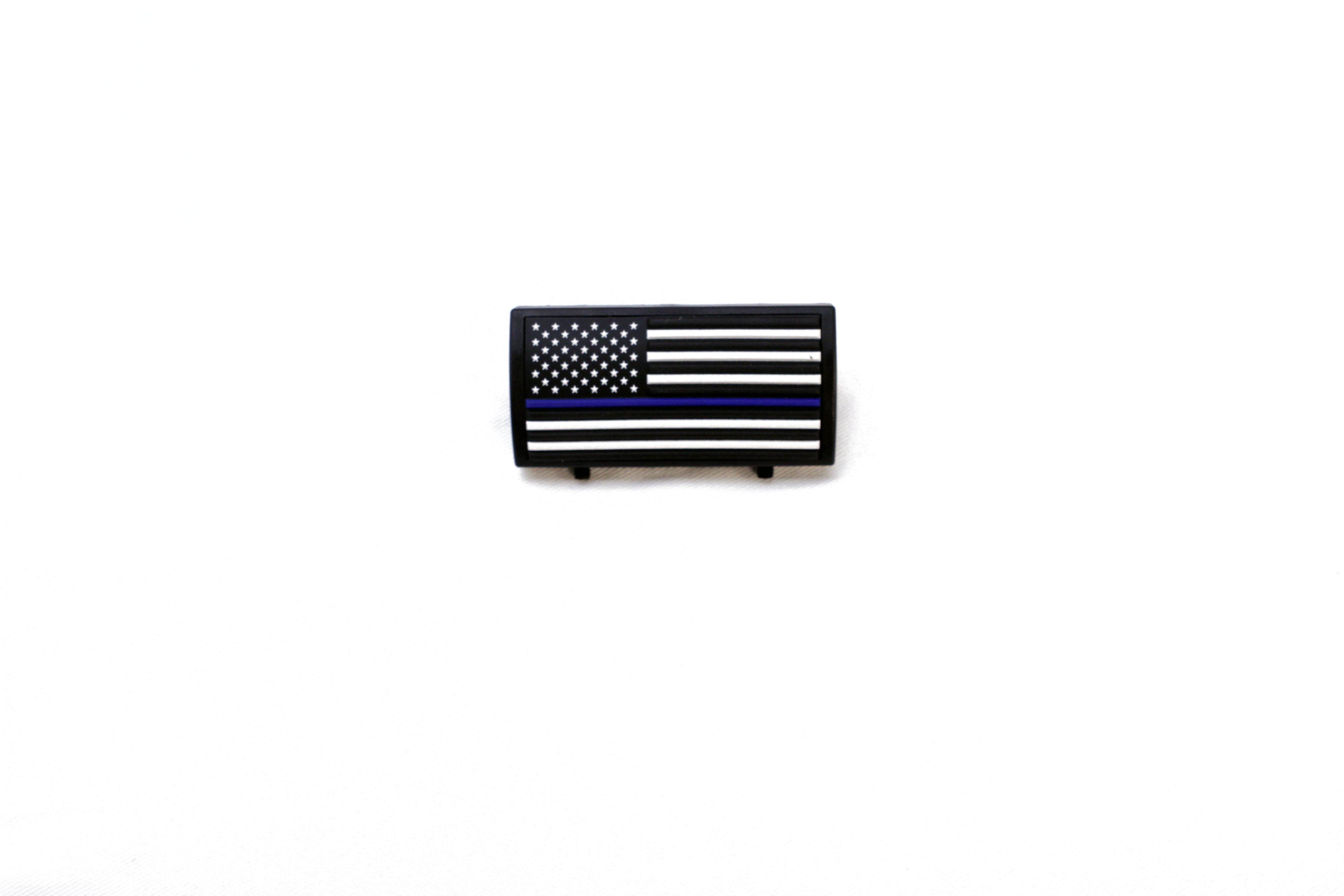 CGR Rail Cover (Thin Blue Line Flag)