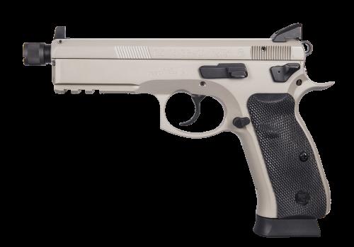 CZ 75 SP-01 Tactical Urban Grey Suppressor-Ready 89253