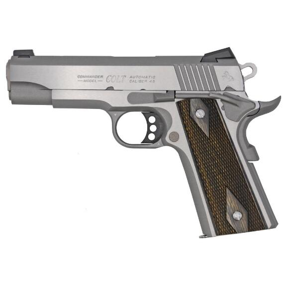 Colt 1911 Combat Commander Stainless .45ACP