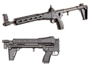 Kel Tec SUB2000 Glock 17 9mm