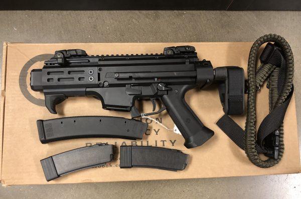 CZ Scorpion EVO 3 S2 Pistol Micro w/ Brace
