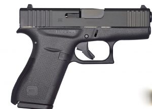 Glock 43X Black 9mm