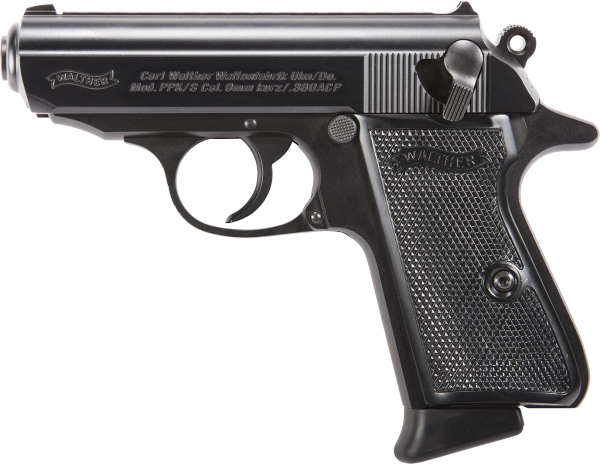 Walther PPK/s Black 2019 Production