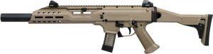 CZ Scorpion EVO 3 S1 Carbine FDE Faux Suppressor