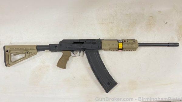 Kalashnikov USA KS-12T FDE with Side Folding Stock