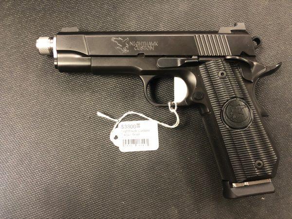 Nighthawk Custom Falcon Commander 9mm USED