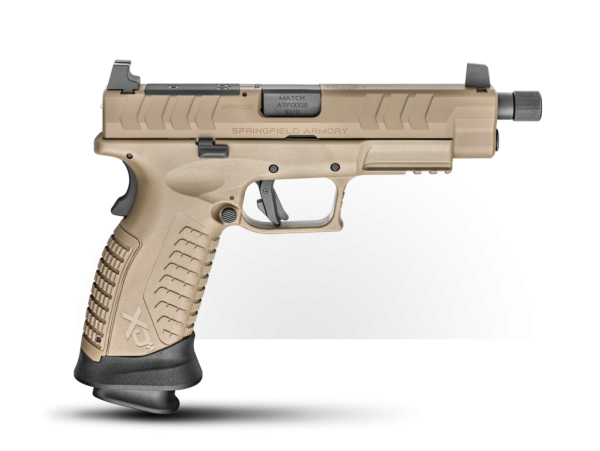 SPRINGFIELD XD-M® Elite 4.5″ OSP™ Threaded 9mm Handgun – Desert FDE