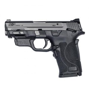 Smith & Wesson M&P®9 SHIELD™ EZ® Manual Thumb Safety Crimson Trace® Red Laserguard®