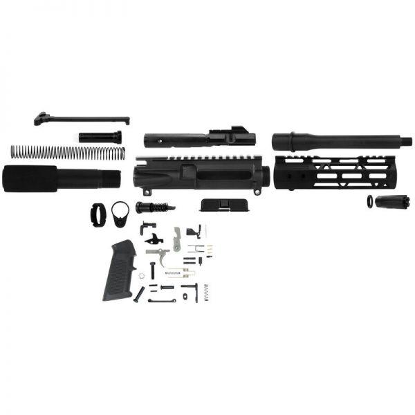 "TacFire AR Build Kit PK556-LPK with MLOK 7.50"" 5.56x45mm NATO"