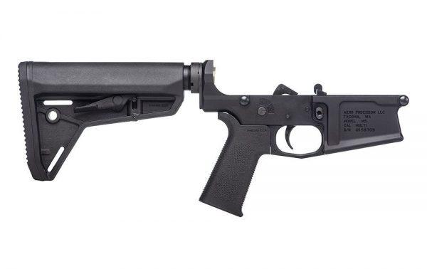 Aero Precision M5 Complete Lower Receiver w/ MOE SL® Grip & SL Carbine Stock