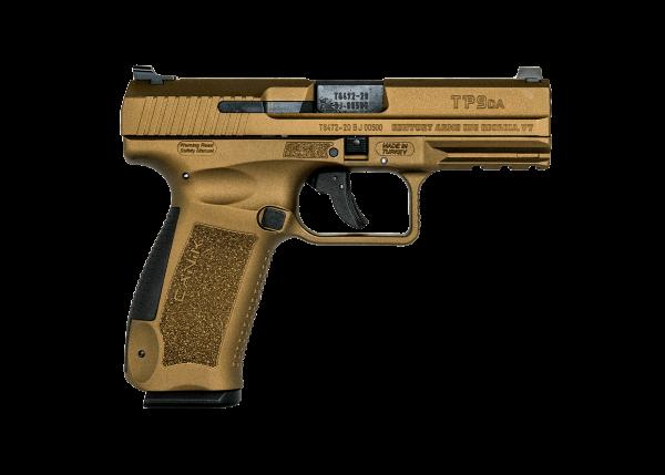 Canik TP9DA Burnt Bronze 9mm