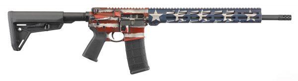Ruger AR556 MPR American Flag 8538