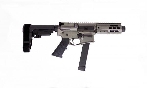 """Brigade Manufacturing AR9 9mm 5.5"""" Tungsten SBA3"""