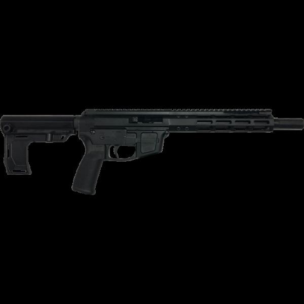 "Foxtrot Mike FM9 Pistol 9mm 8.5"" Barrel Side Charging Handle"