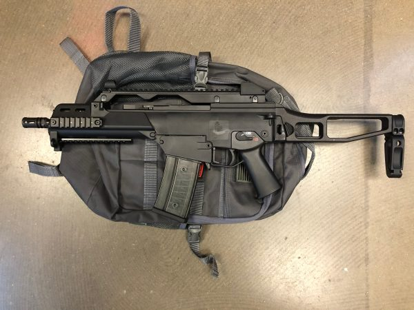 TommyBuilt Tactical TG36CP 5.56 PISTOL w/ PSB