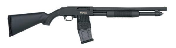 Mossberg 590M Mag-Fed Pump-Action 12 ga