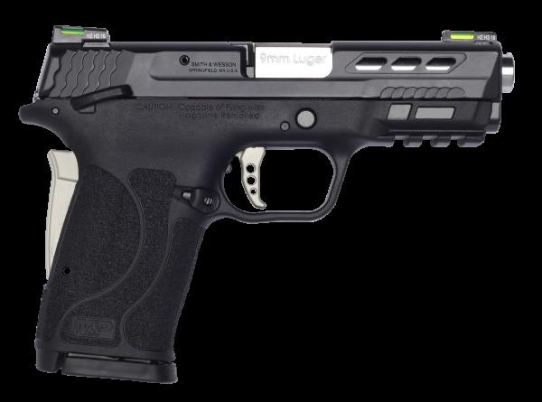 Smith & Wesson Shield EZ 9mm PC Silver 13225