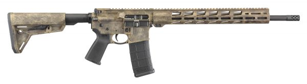 Ruger AR-556® MPR Frazzled Camo 8539