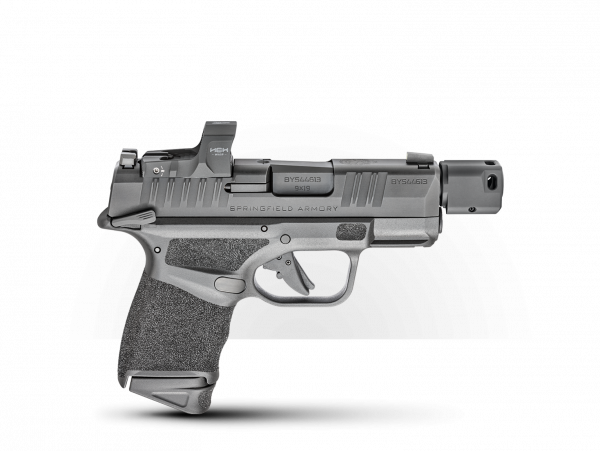 SPRINGFIELD HELLCAT® RDP 3.8″ 9MM W/ HEX WASP & MANUAL SAFETY