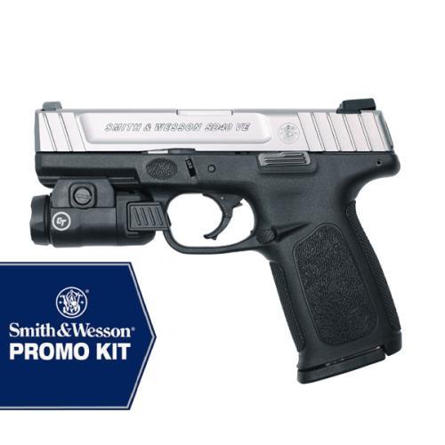 S&W SD9 VE™ CRIMSON TRACE TACTICAL LIGHT 16 ROUND PROMO KIT