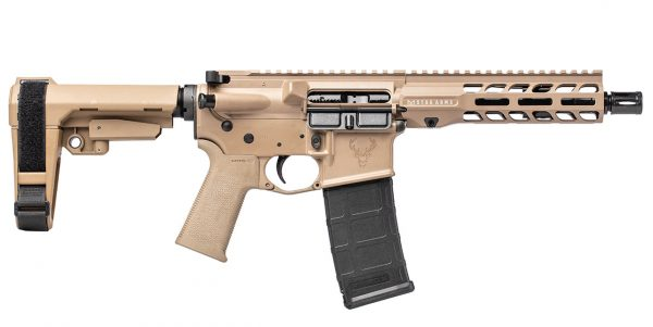 Stag 15 Tactical RH QPQ 7.5 in 5.56 Pistol FDE SL NA