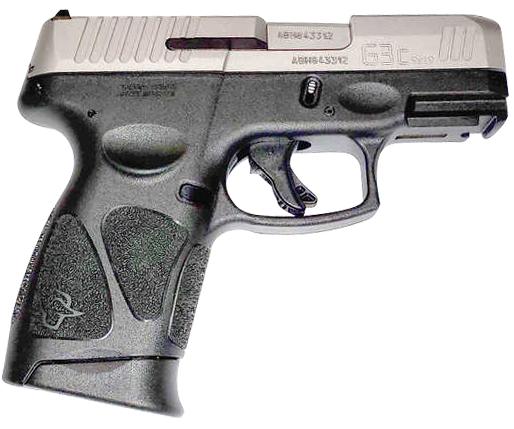 Taurus G3c 9mm Stainless Slide 1-G3C939
