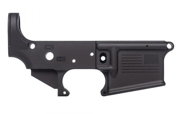 Aero Precision AR15 Stripped Lower Receiver, Special Edition: Freedom - Anodized Black
