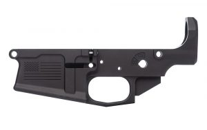 Aero Precision M5 (.308) Stripped Lower Receiver, Special Edition: Freedom - Anodized Black