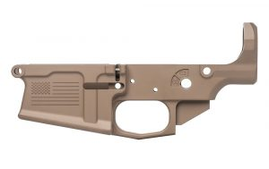Aero Precision M5 (.308) Stripped Lower Receiver, Special Edition: Freedom - FDE Cerakote SKU APAR308054C
