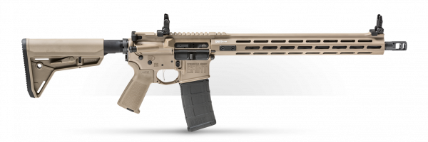 SPRINGFIELD SAINT® VICTOR 5.56 AR-15 RIFLE – DESERT FDE