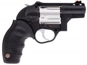 "Taurus 605 357 Mag 5rd 2"" Matte Stainless Cylinder Black Polymer Frame 2-605029PLY"